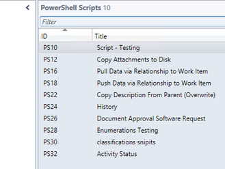 Moving PowerShell Scripts Between Environments
