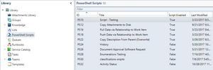 Xapity PowerShell Script Library for SCSM
