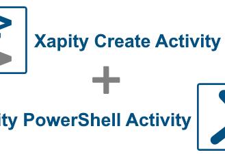 Xapity Create Activity and Xapity PowerShell Activity
