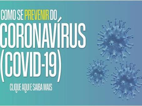 Vídeo de Prevenção do CORONAVÍRUS (COVID - 19)