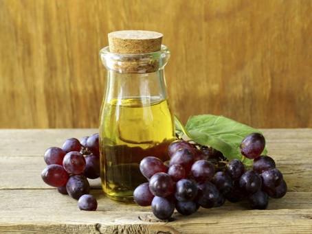 Óleo vegetal de semente de uva
