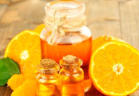 óleo essencial de laranja doce