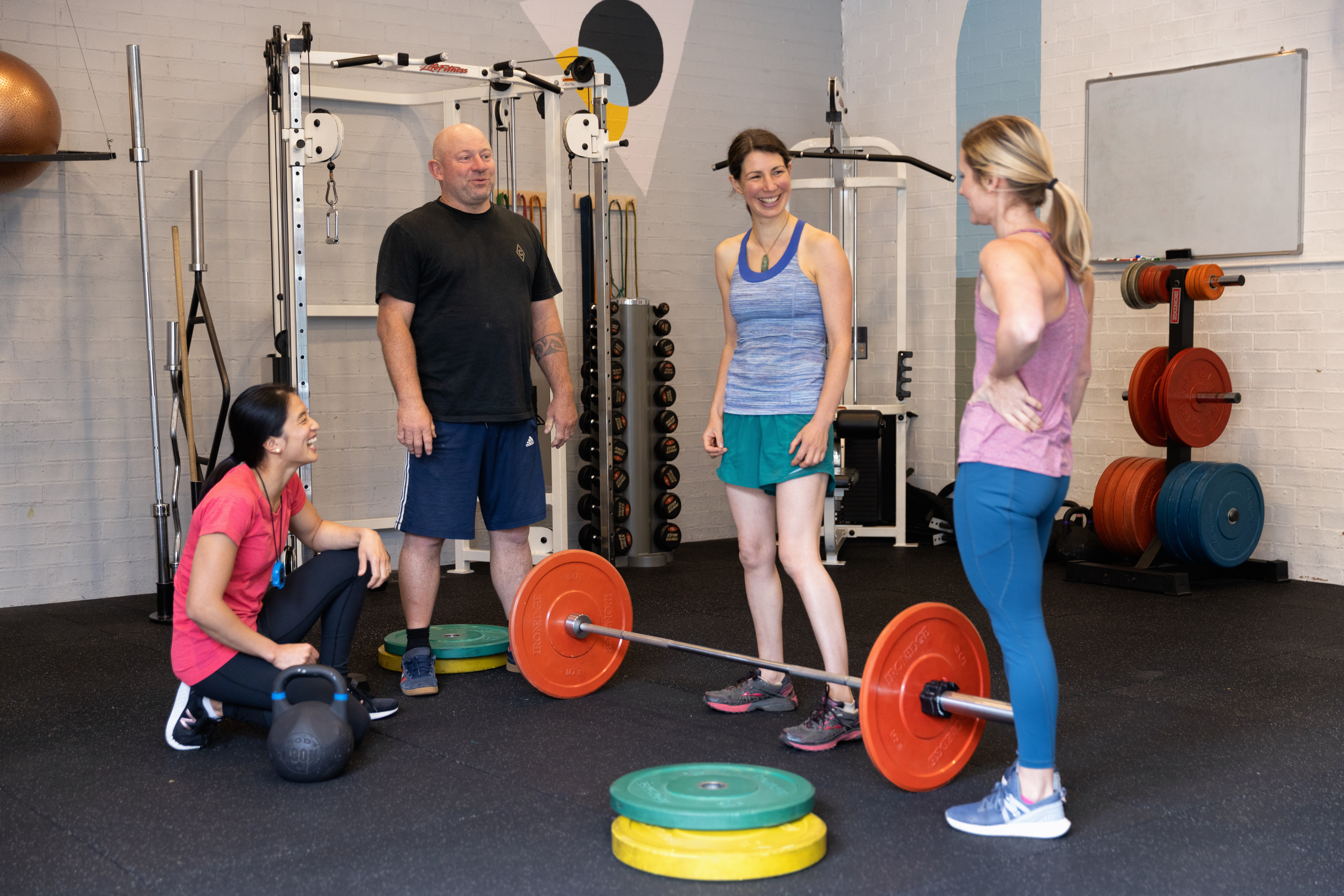 Small group classes for all Levels of Fitness