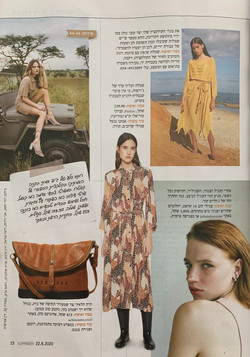 Juliette Kor in La Isha magazine