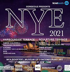 Gorgeous presents NYE 2021