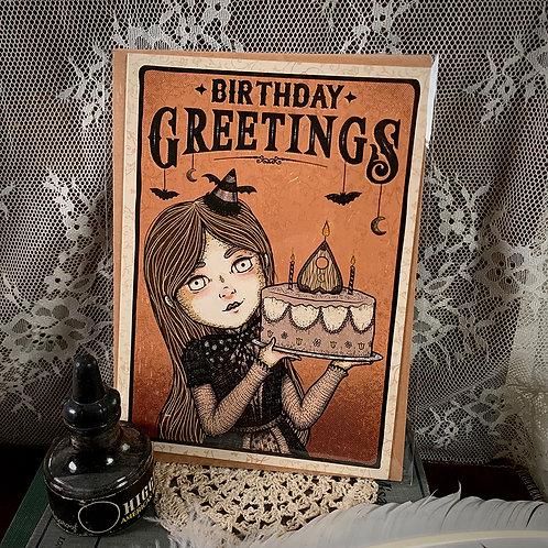 Birthday Greetings Card - II