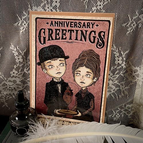 Anniversary Greetings Card - II