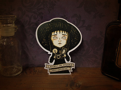 Lydia Deetz Sticker
