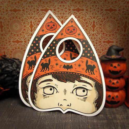 Halloween planchette orphan sticker