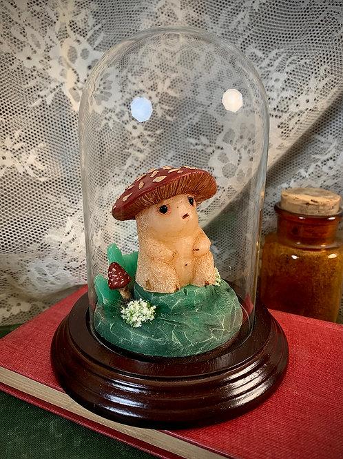 Amanita Mushroom Sickling Bell Jar