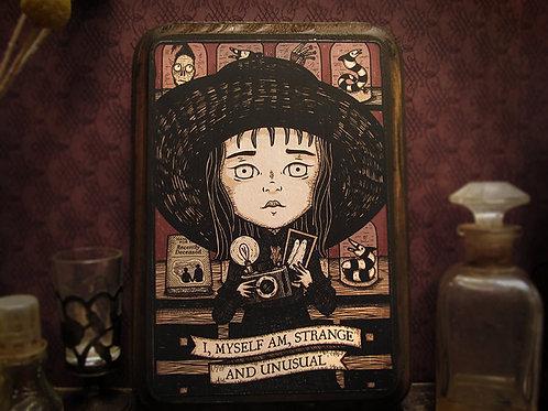 "Lydia Deetz ""Strange & Unusual"""