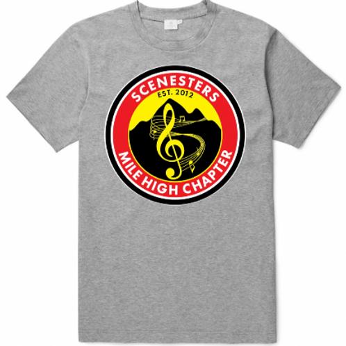 2018 Scenesters T-Shirt GREY