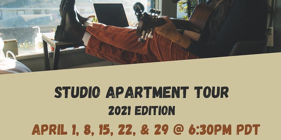 Studio Apartment Tour - 2021 Edition #1