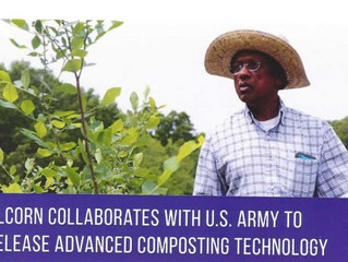 Alcorn Collaborates with U.S. Army to Release Advanced Composting Technology