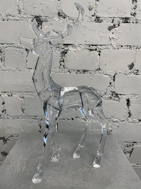 Acrylic Large Stag Decoration