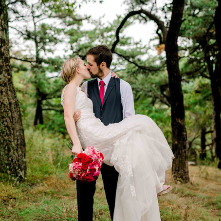 Evan & Courtney's Rustic Wedding at Gambrill State Park