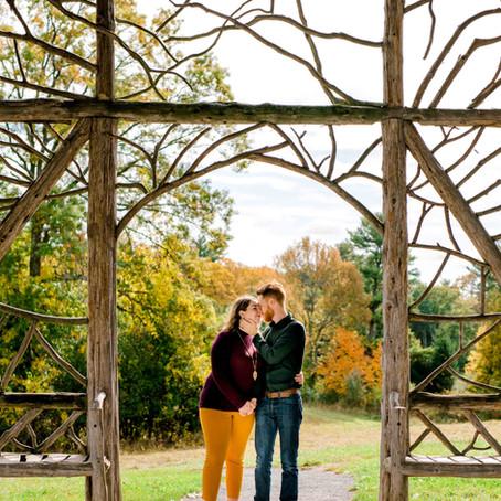 Michael & Lauren's Poet's Walk Engagement