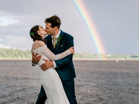 Matt & Julianne's Classy Summer Wedding
