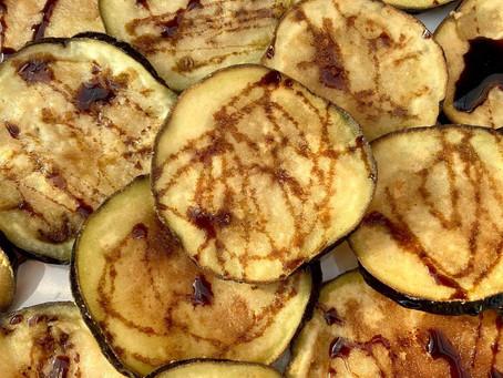 Recept: Gefrituurde aubergine met miel de caña