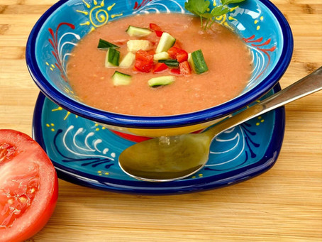 Recept: Gazpacho andaluz