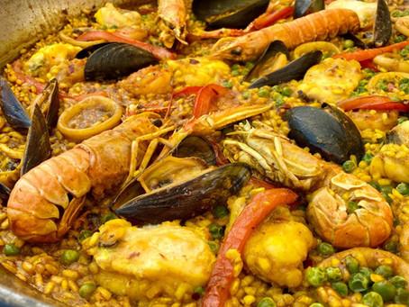 Recept: Paella de marisco (arroz Alicantino)