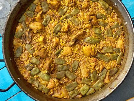 Recept: Paella Valenciana