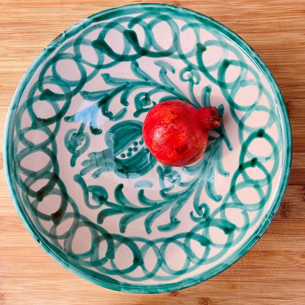 Spaans servies fruitschaal uit Granada