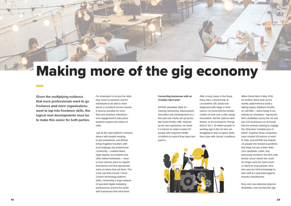 Croud The professional gig economy