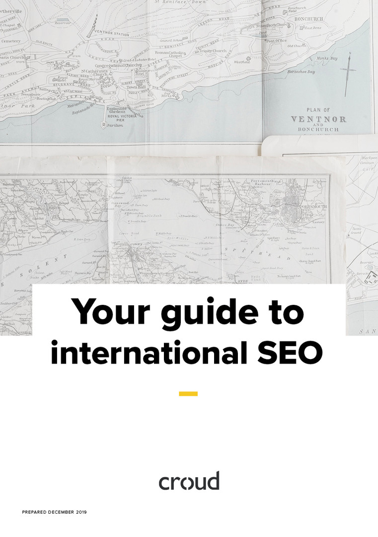 Croud International SEO Guide