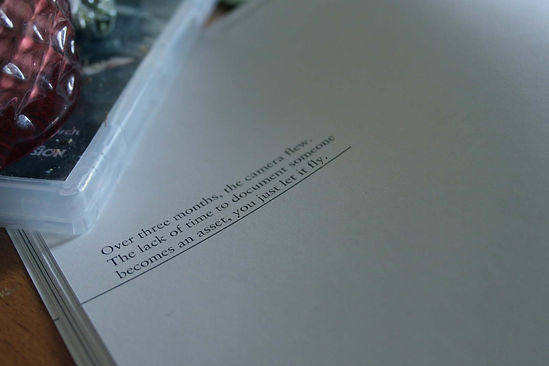 Delicately Robust Photo Book Diary