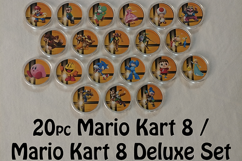 20pc Mario Kart 8 Amiibo Set