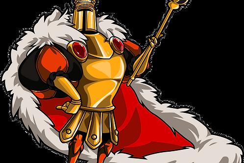 Individual King Knight Amiibo