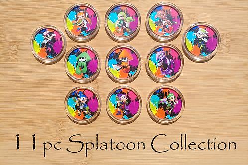 16pc Splatoon Amiibo Collection