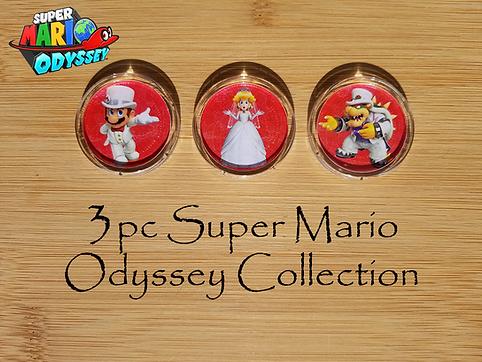 3pc Super Mario Odyssey Collection