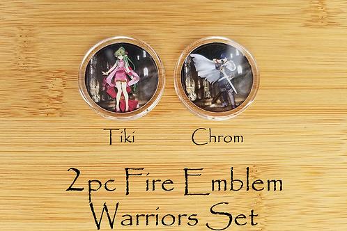 2pc Fire Emblem Amiibo Chrom & Tiki Set