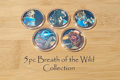 5pc Breath of the Wild Amiibo Collection