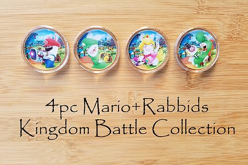 4pc Mario+Rabbids Kingdom Battle Collection
