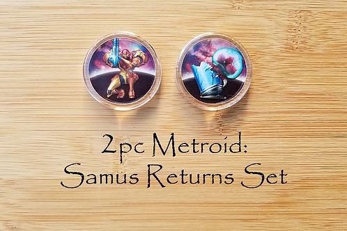 2pc Metroid: Samus Returns Set