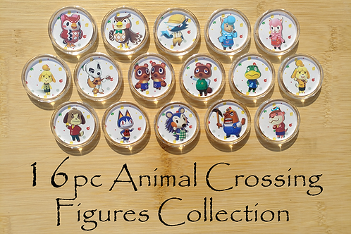16pc Animal Crossing Amiibo Collection