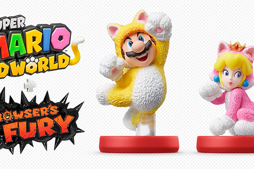 2pc Super Mario 3D World Set