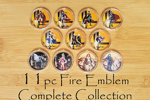 11pc Fire Emblem Amiibo Complete Collection