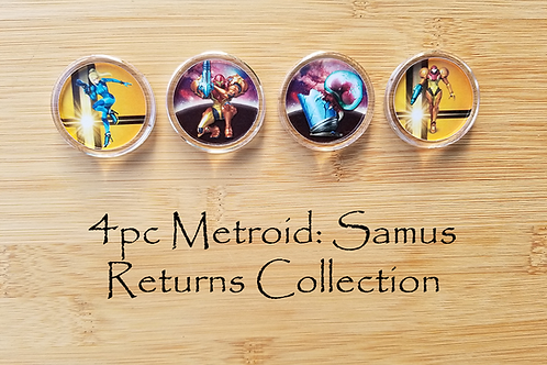4pc Metroid: Samus Returns Collection