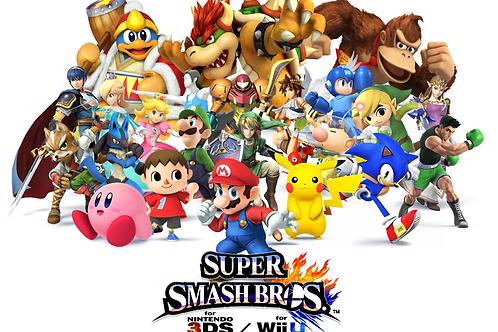 Individual Super Smash Bros. Amiibo Token ~ Part 2 of 2