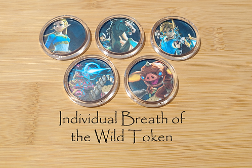 Individual Breath of the Wild Amiibo Token