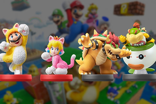 4pc Super Mario 3D World + Bowser's Fury Collection