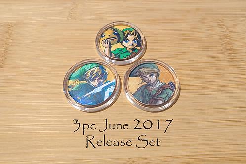 3pc June 2017 Amiibo Release Set