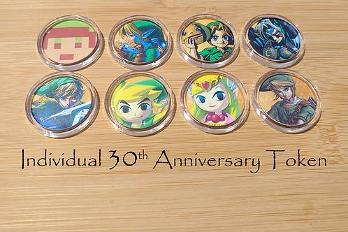 Individual 30th Anniversary Amiibo Token