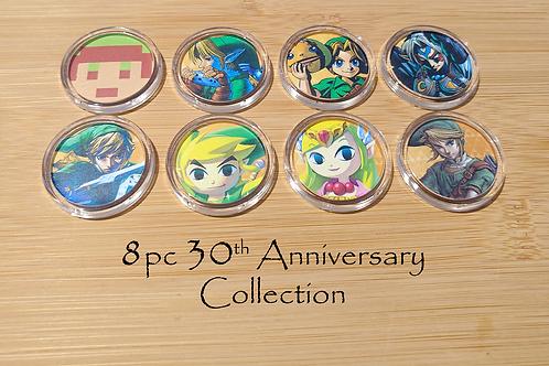 8pc 30th Anniversary LoZ Amiibo Collection