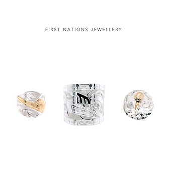 West Coast First Nations silver and gold jewellery non-profit, fundraising ideas
