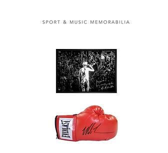 Sport and Music Memorabilia,non-profit, fundraising ideas